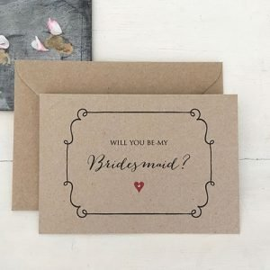 Bridesmaid cards etc