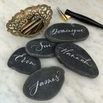 Granite Place Cards