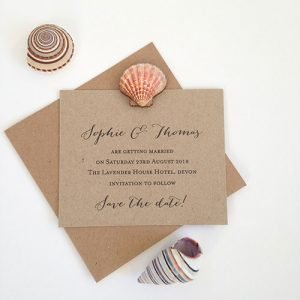 Siena Save The Date Card