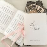 Custom Wedding Vow books